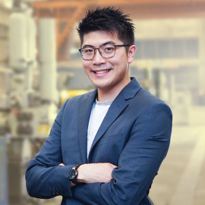 Eric Fung, Director of Corporate Development, Hong Kong, On Hing Metal