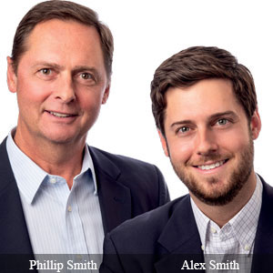 Phillip Smith, Owner and GM and Alex Smith, Sales Applications Engineer, Cincinnati Automation