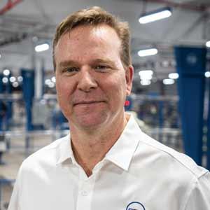 James DeSmet, President, CRG Automation