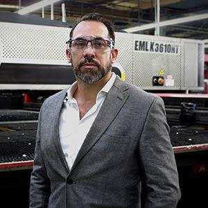 Héctor Gutiérrez, President, Quality Fabrication, Inc.