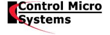 Control Micro Systems