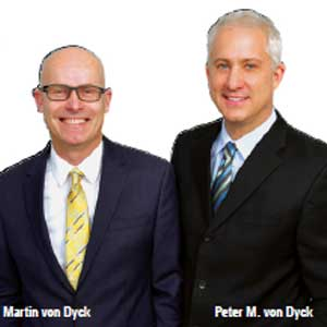 Martin von Dyck, Executive Vice President & COO and Peter M. von Dyck, CEO, Hydromer, Inc.
