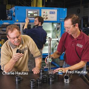 Fred Hautau, Co-Founder and Charlie Hautau, Co-Founder, Hautau