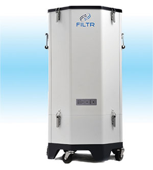 FILTR: An Innovative and Holistic Approach to Cleanroom Solutions with an Air Purifier to Detect and Protect Your Air