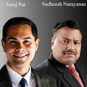 Suraj Pai, Co-Founder and Sudheesh Narayanan, Co-Founder, Fluxa