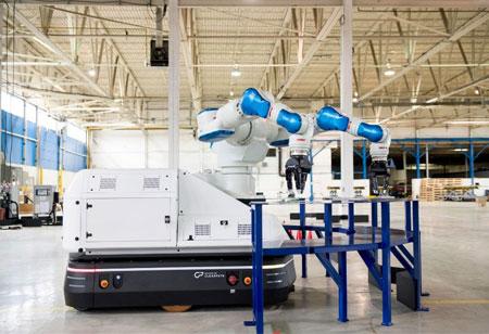 Mobile Industrial Robots and Faurecia Partner for Improved Logistics Optimization