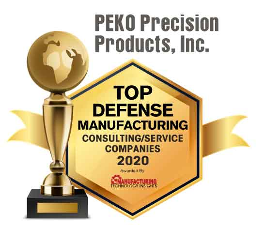 Top 10 Defense Manufacturing Consulting/Service Companies - 2020