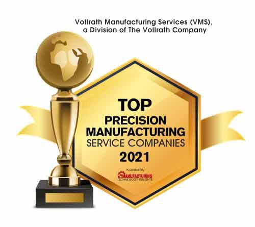 Top 10 Precision Manufacturing Service Companies - 2021