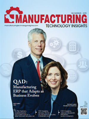 QAD:  Manufacturing ERP that Adapts as Business Evolves