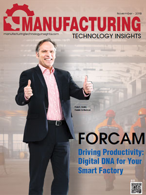 FORCAM Driving Productivity: Digital DNA for Your Smart Factory