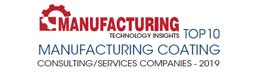 Top 10 Manufacturing Coating Consulting/Services Companies - 2019