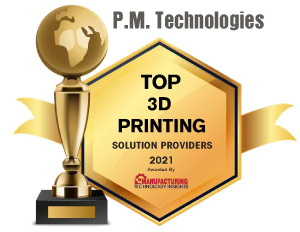 Top 10 Emerging 3D Printing Solution Companies - 2021